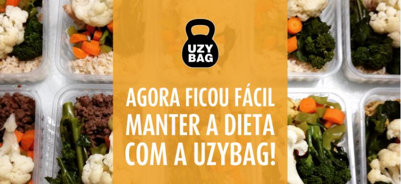 Agora ficou fácil manter a dieta com a Uzybag