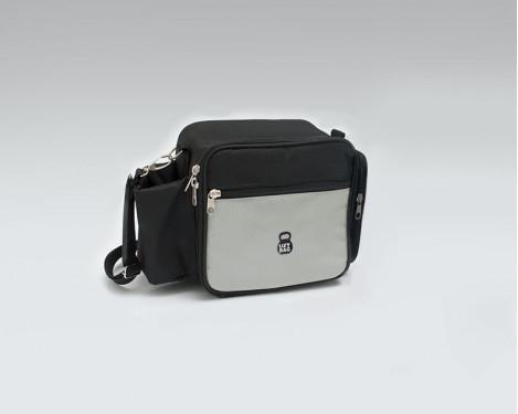 Bolsa Térmica Mini - Preto com Cinza