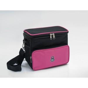 Bolsa Térmica Soft - Rosa Pink com preta